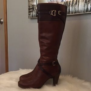 Gorgeous Cole Haan Nike Air Cognac Boots